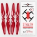 4.7x2.9 DJI Spark STEALTH Upgrade Propeller Set, 4x Red