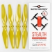 4.7x2.9 DJI Spark STEALTH Upgrade Propeller Set, 4x Yellow