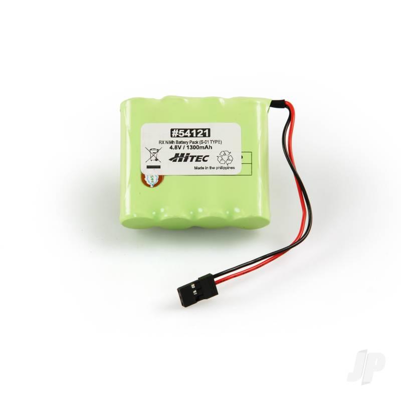 Rx NiMH Pack 4.8V 1300mAh