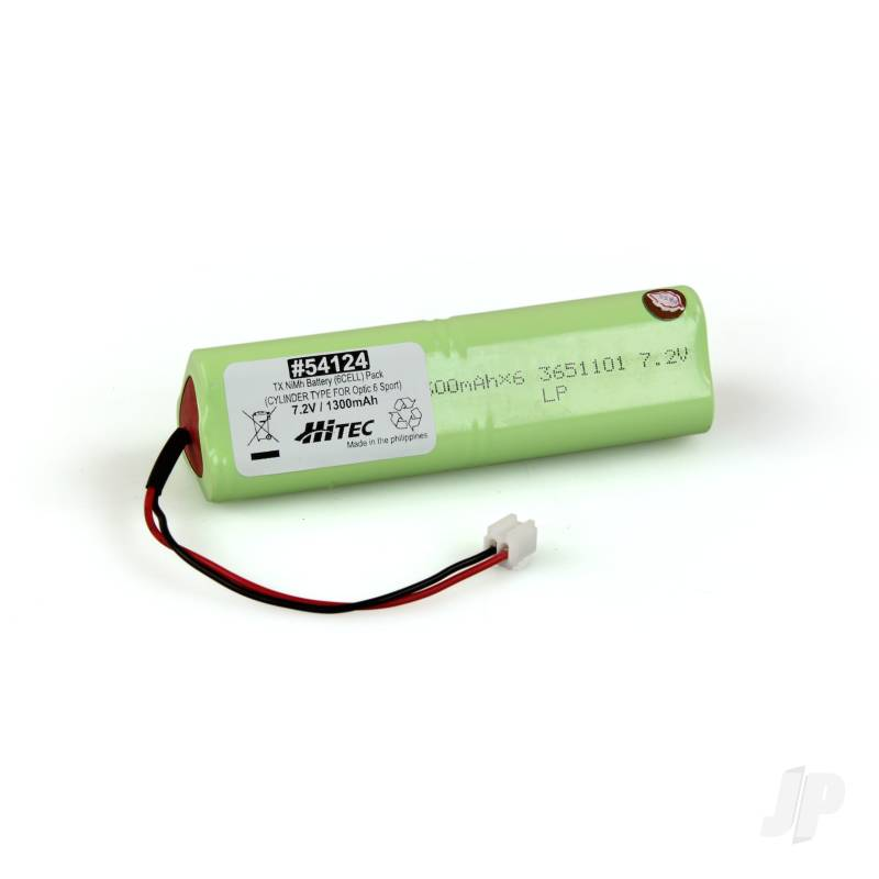 Tx Battery Pack NiMH 7.2V 1300mAh Optic 6 Sport