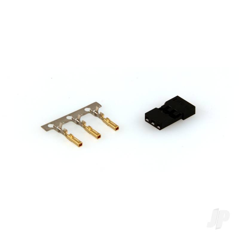 Housing & Gold Pin Connector (54801)