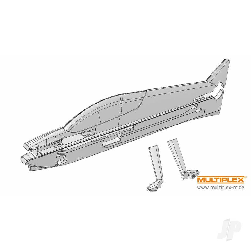 Parkmaster 3D Fuselage and Undercarrriage Cover 224132
