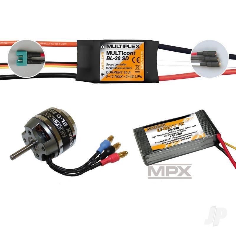 Power Set/Battery Panda Sport 333662