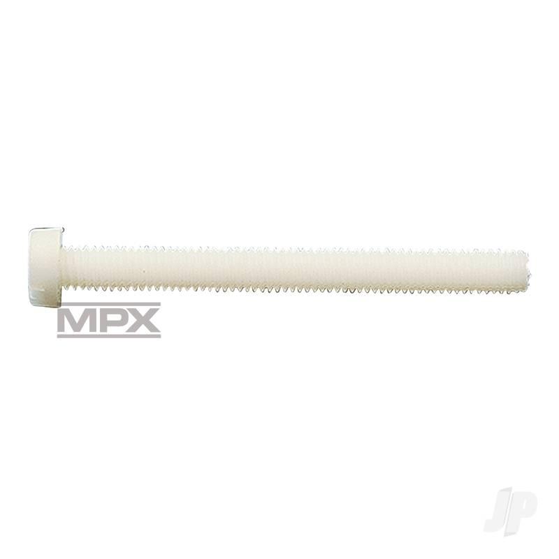 Plastic Cheesehead Screw M5x40 x10 713339