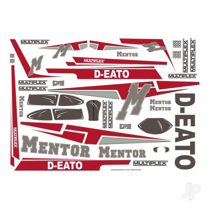 Decal Sheet Mentor 724482