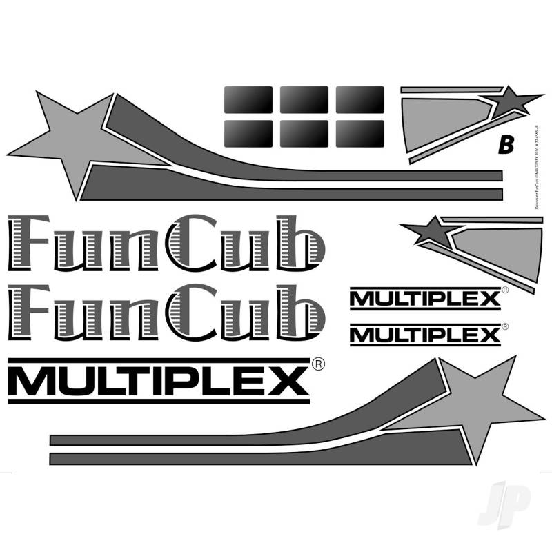 Decal Sheet Funcub 724565