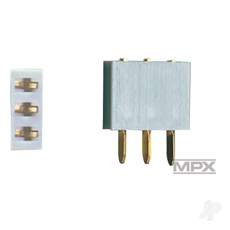 3-Pin Socket 5pcs (MULTIPLEX) 85225