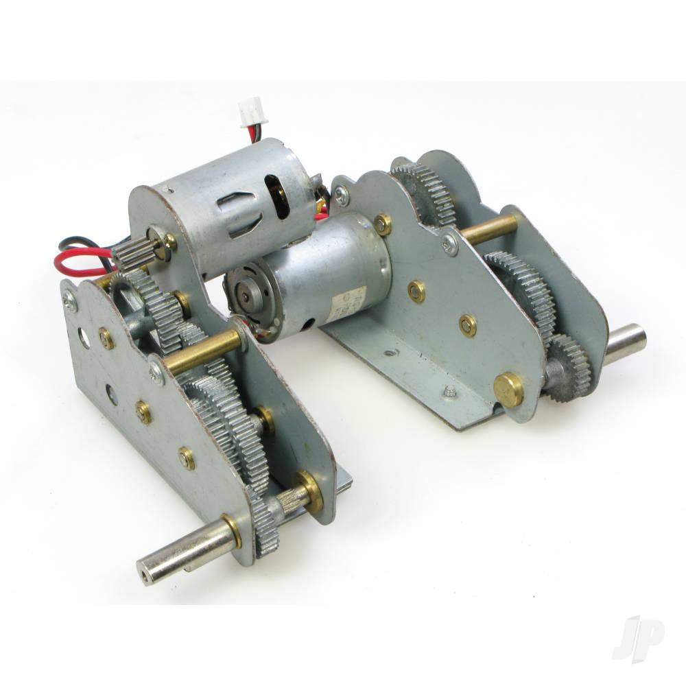 Panzer IV F1/F2 Metal Gearbox/Motor Set (3858/59