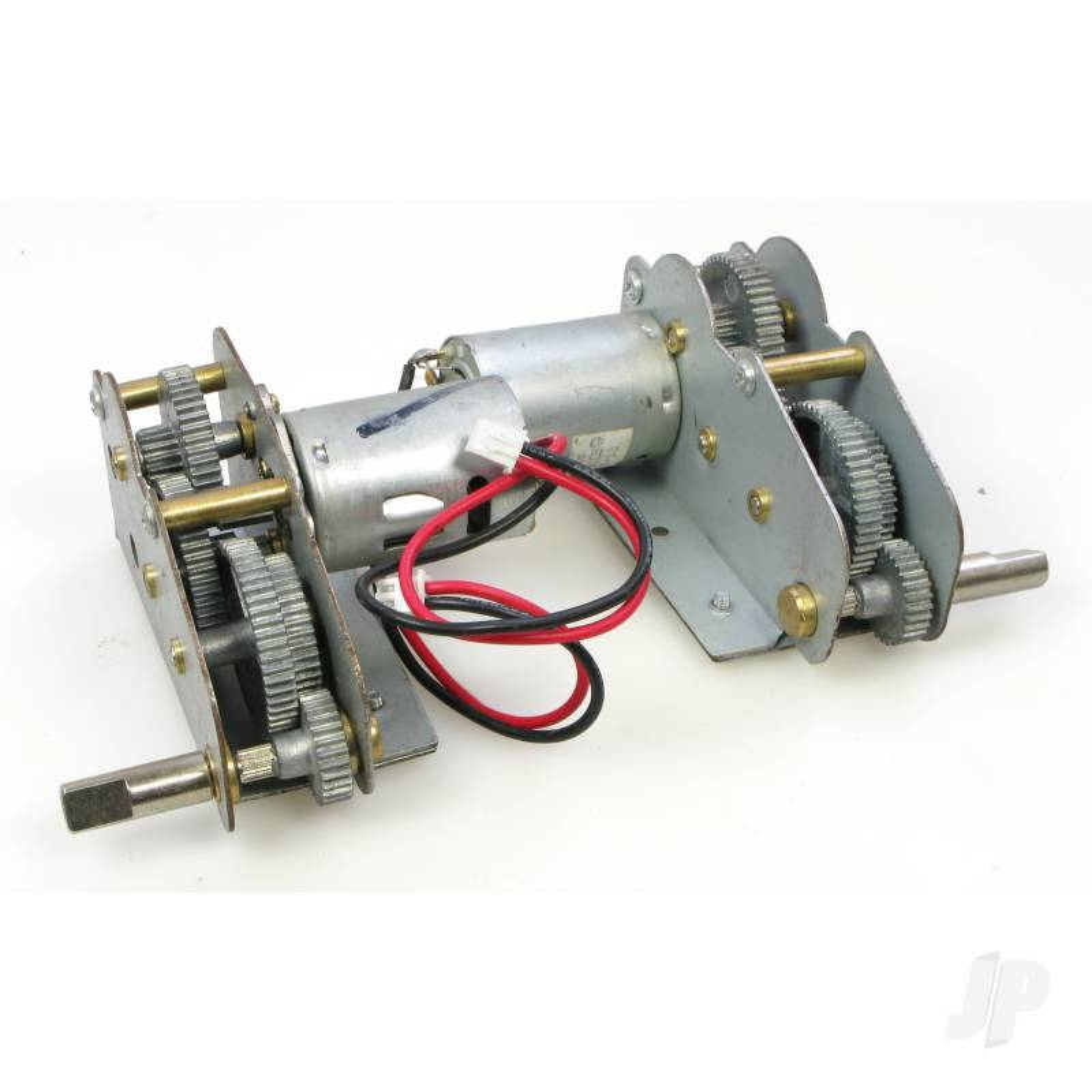 Stug III Metal Gearbox/Motor Set (3848/49/68)