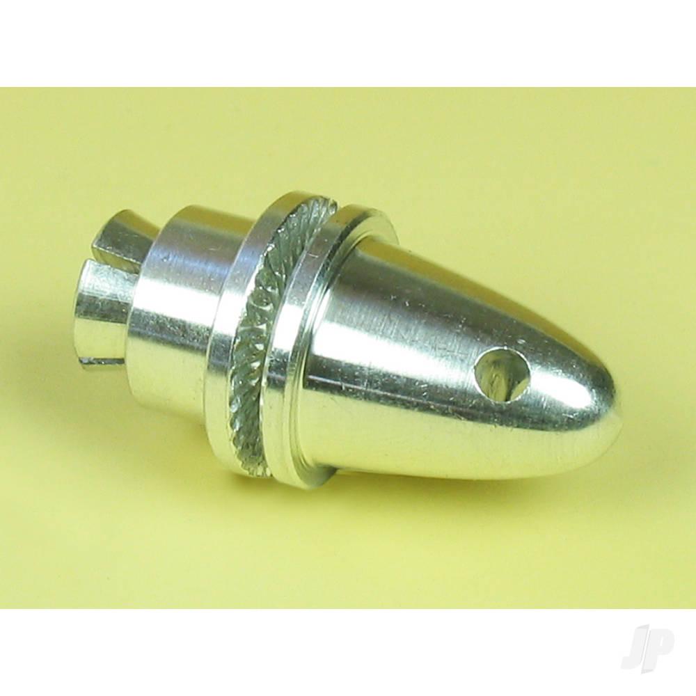 Medium Collet Propeller Adaptor With Spinner (4mm)