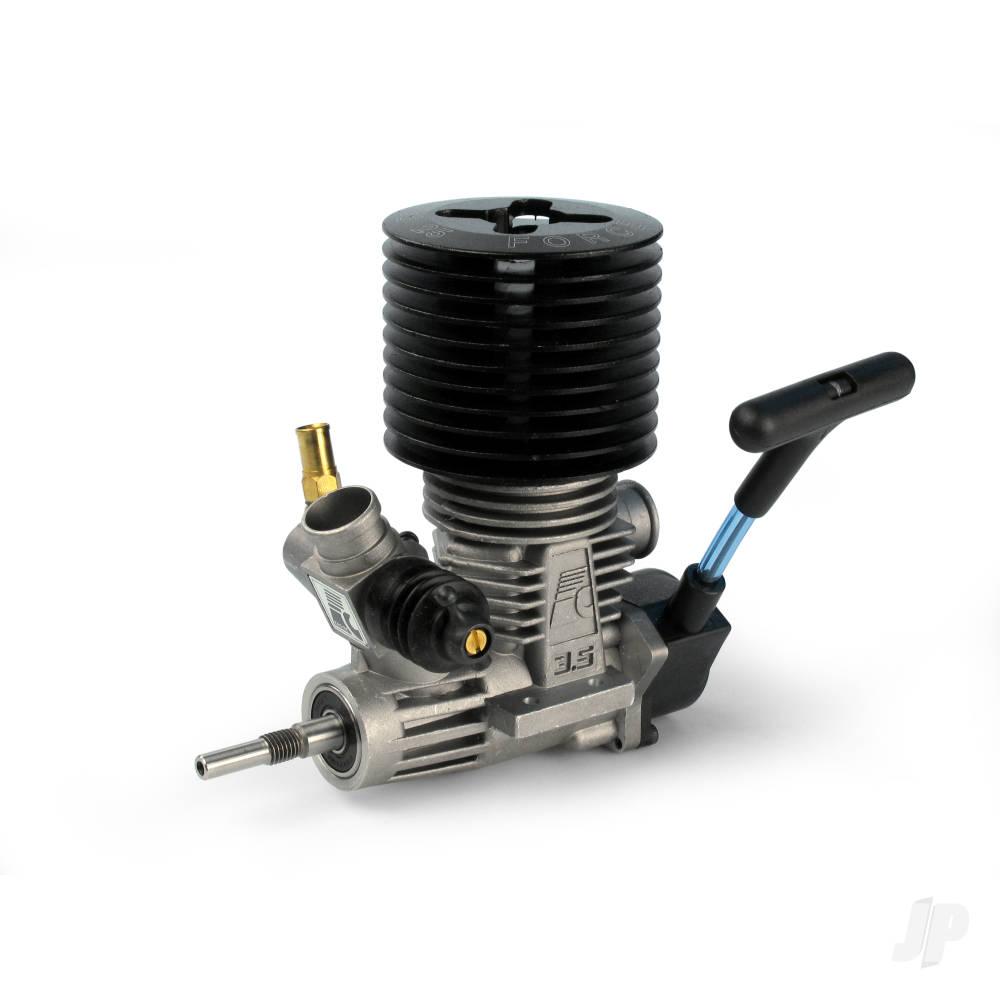 25 Car ABC Rear Exhaust incl. Pull-start (SG-Shaft)