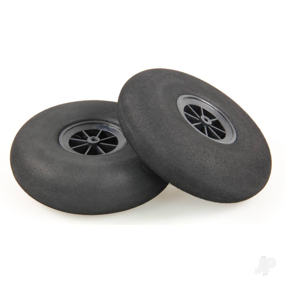 120mm Rounded Sponge Wheels (2)