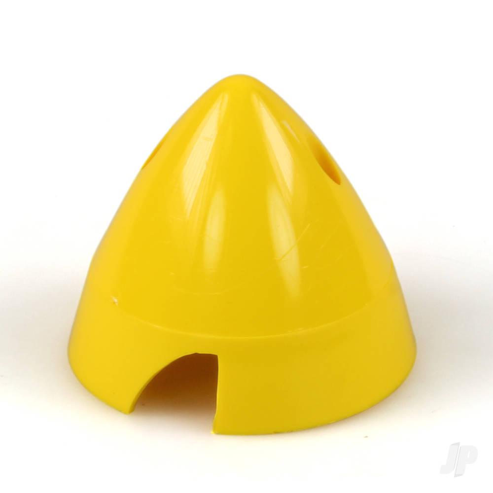 2 1/2in (63mm) Yellow Nylon Spinner