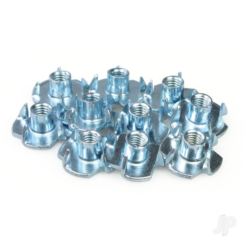 M3 T Nut 4 Prong (10x5)