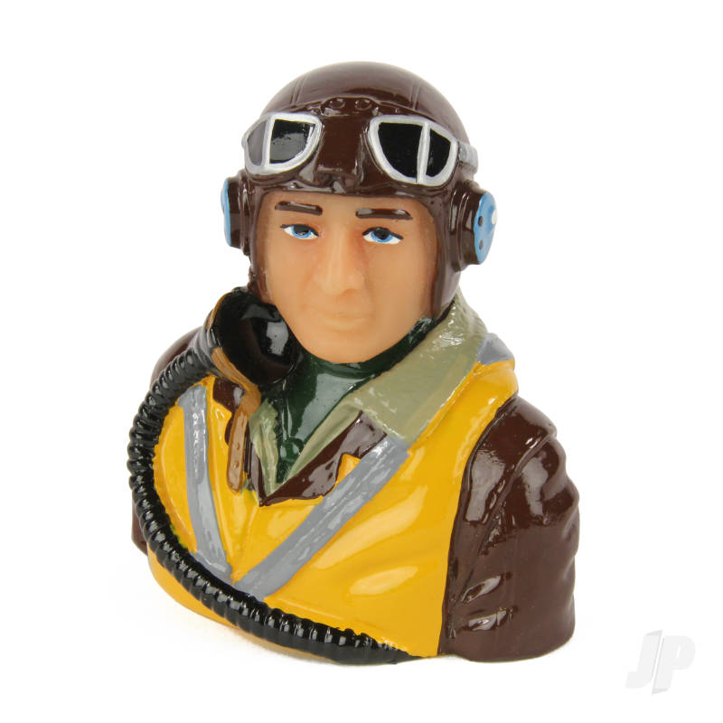 Allied Pilot WWII (Painted) P200