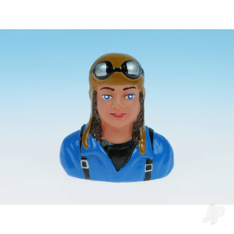 Pilot Lady Blue (Painted) P47
