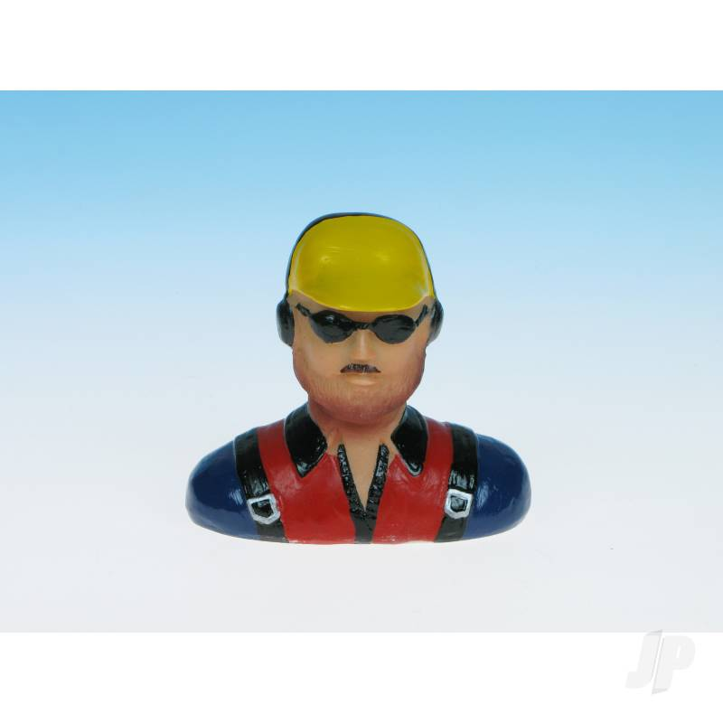 Pilot Cap Red/Blue/Yellow (Painted) P22