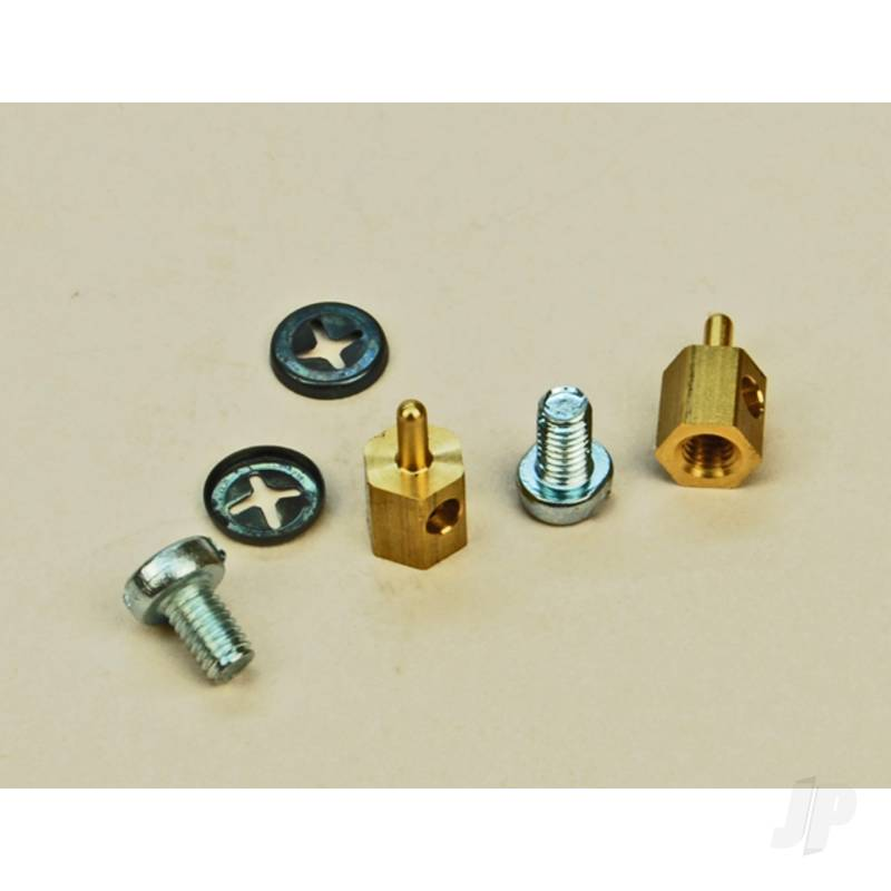 Sl63 P/Rod Connector Brass (2x10)