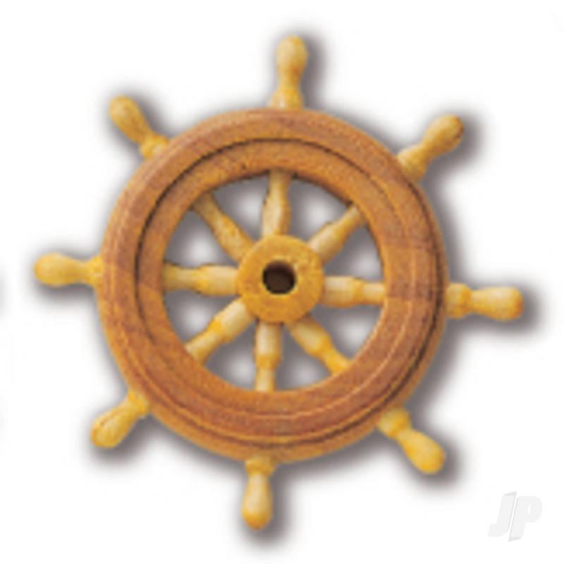 80043 Ships Wheel 30mm (1x6)