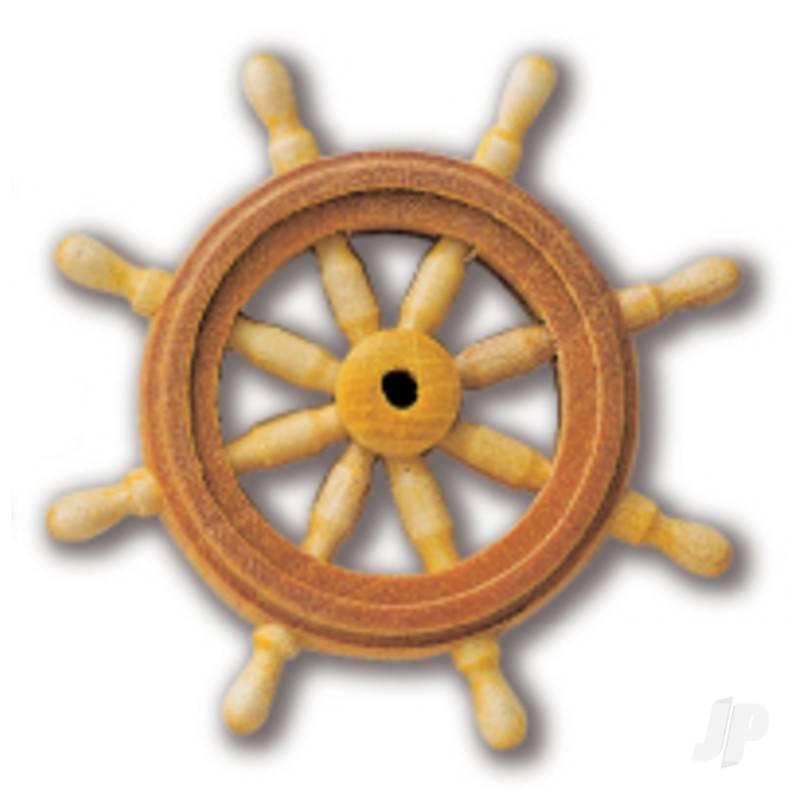 80044 Ships Wheel 40mm (1x6)