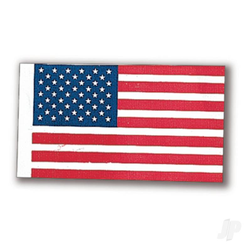 80191 American Flag 36x70mm (1x6)
