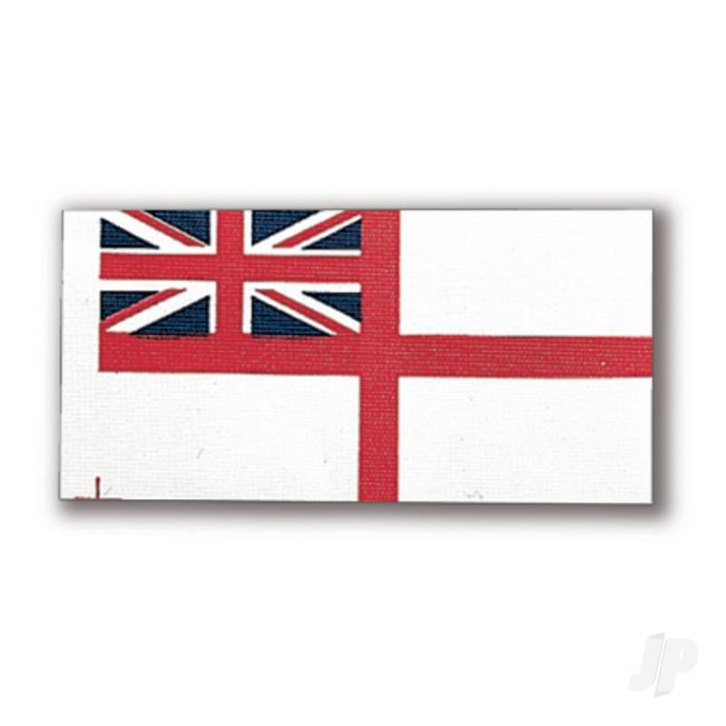 80192 White Ensign Flag 36x70mm (1x6)
