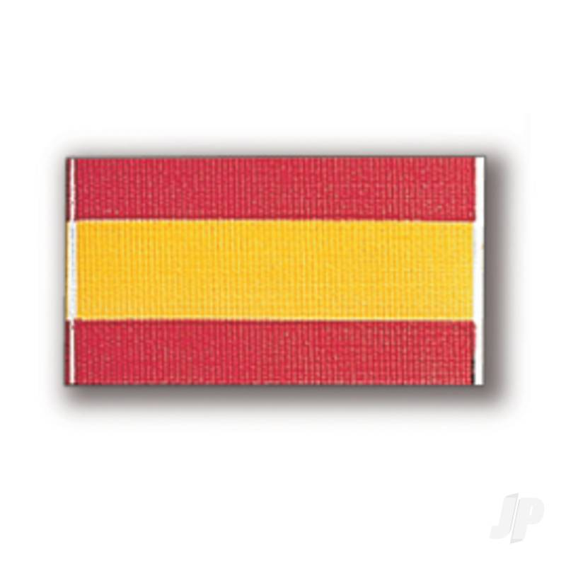 80197 Spanish Flag 17x40mm (1x6)