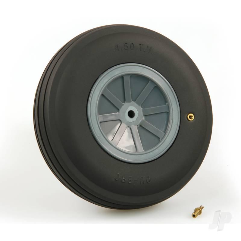 DB450Tv Large Treaded Inflatable Wheel 4 1/2 (1)