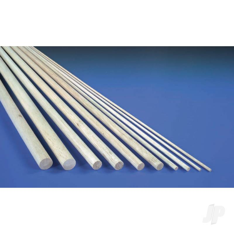 10mm (3/8in) 930mm Balsa Dowel
