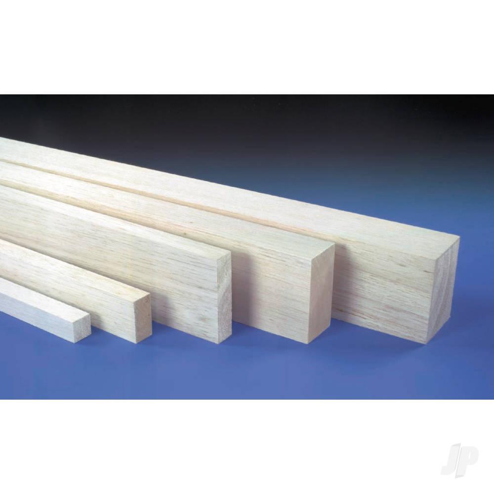 3x4in 36in Block Balsa