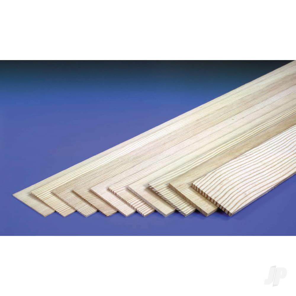 3/16in 36x3in Sheet Spruce