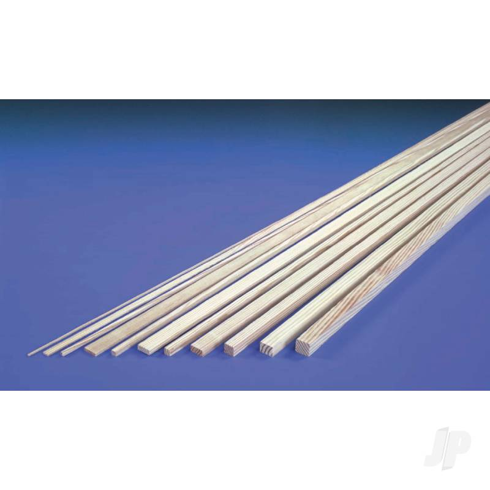 3/16x3/8in 36in Strip Spruce