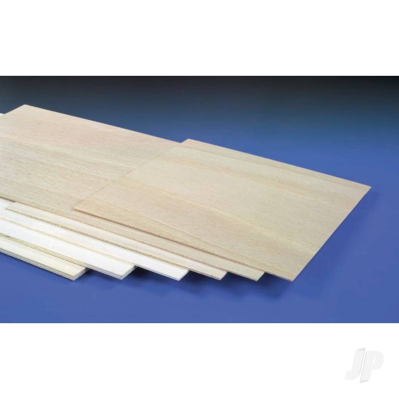 6mm (1/4in) 300x300mm Light Ply (Gos)