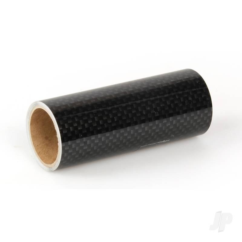 Oratrim Roll Carbon Fibre (#425-71) 9.5cmx2m