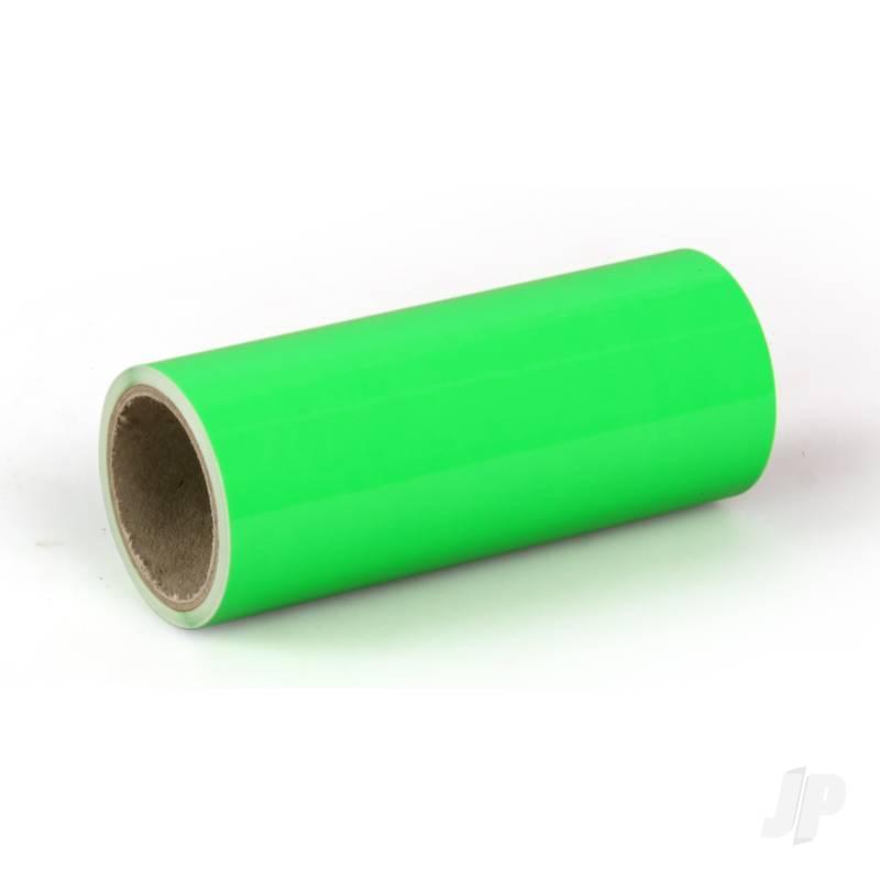Oratrim Roll Fluorescent Green (#41) 9.5cmx2m