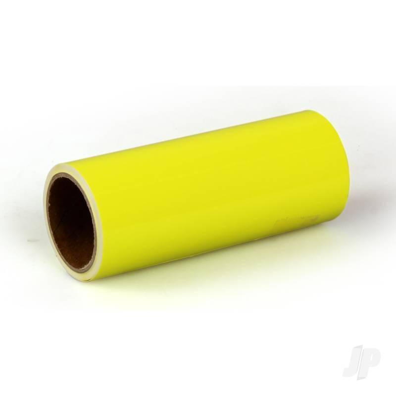 Oratrim Roll Fluorescent Yellow (#31) 9.5cmx2m
