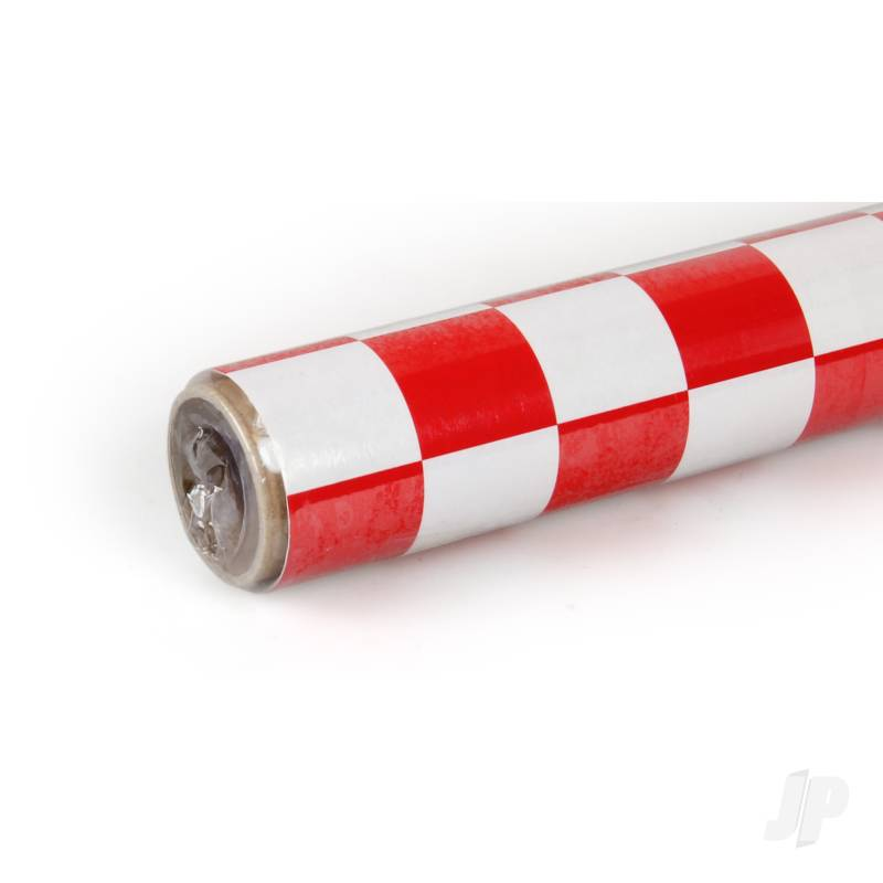 2m Fun-3 Large Chequered White/Red