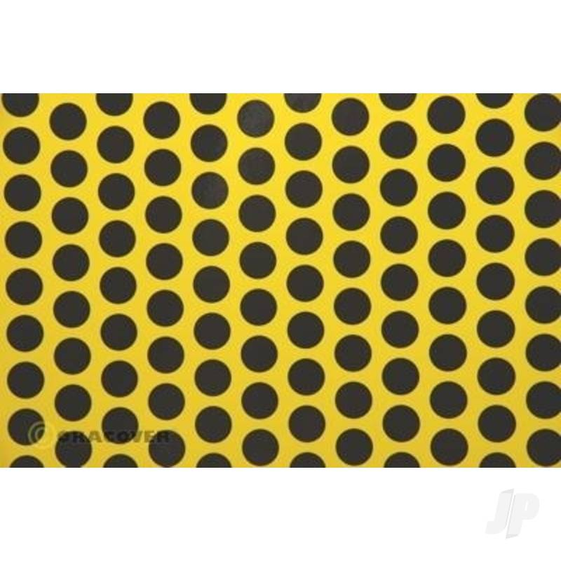 2m Oracover Fun-1 Yellow/Black