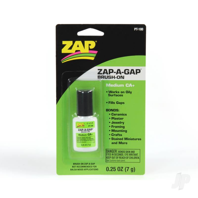 PT100 Zap-A-Gap CA+ Brush-On 1/4oz (Medium)