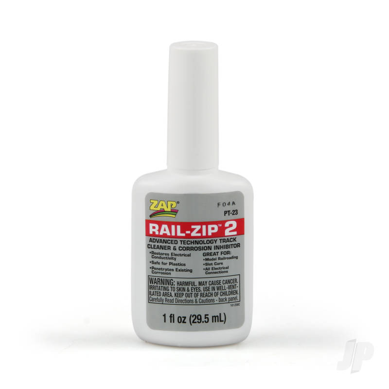 PT23 Rail Zip Track Cleaner 1oz (Box of 6)