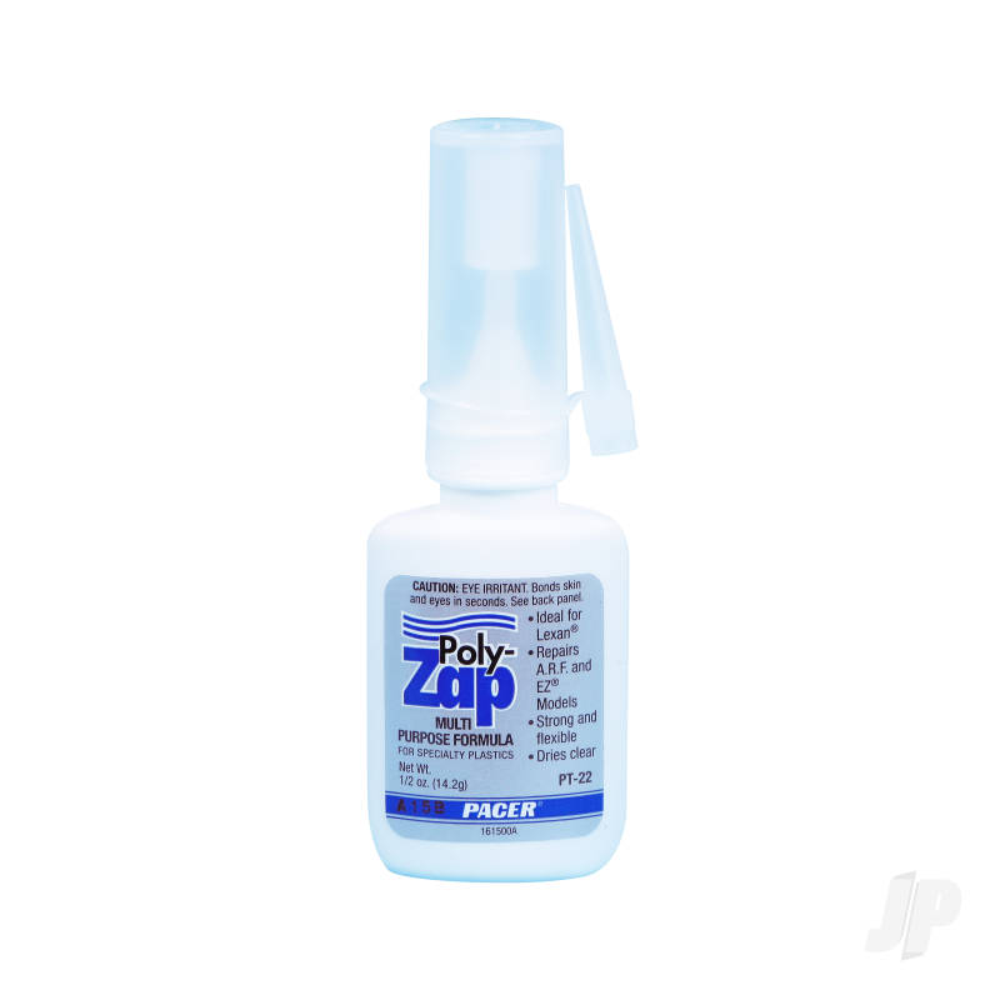 PT22 Poly Zap CA 1/2oz (Box of 12)