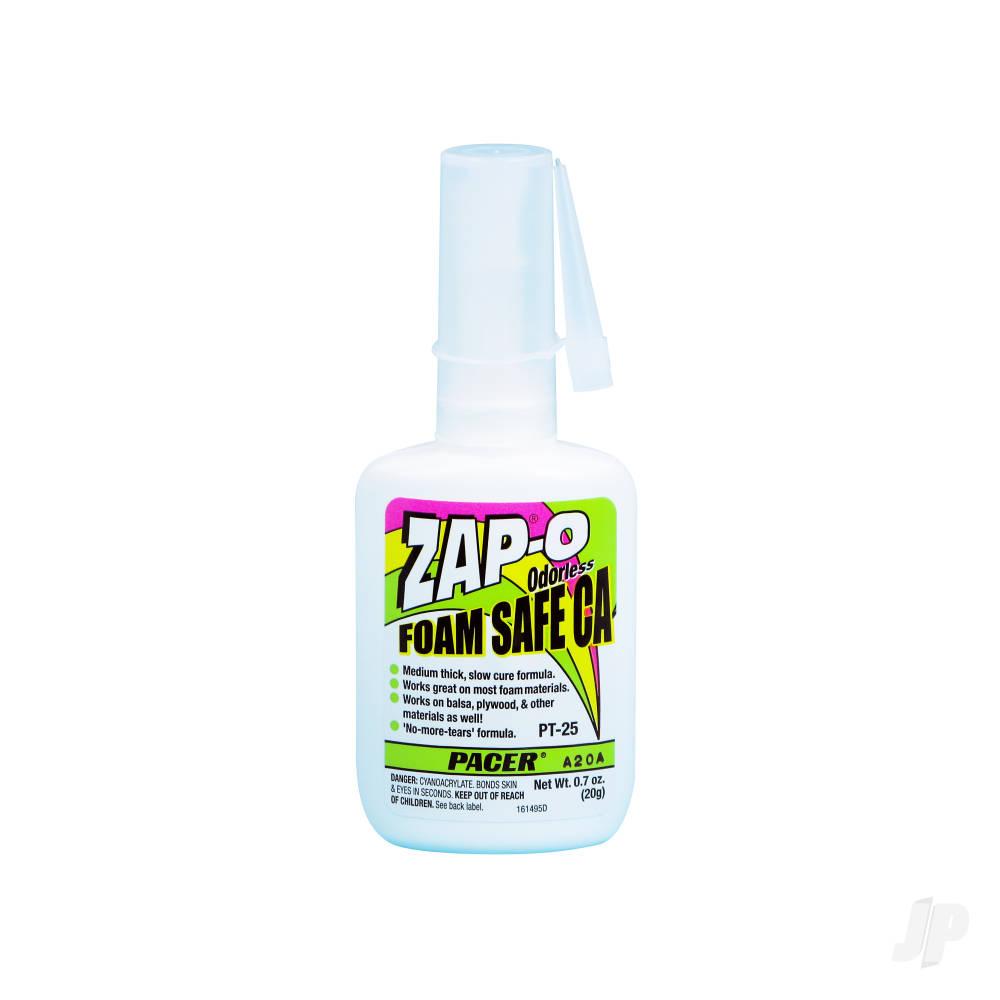 PT25 Zap-O Foam Safe CA .7oz (Box of 6)
