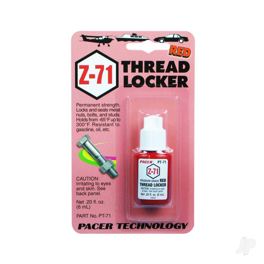 PT71 Z-71 Red Thread Locker .20oz