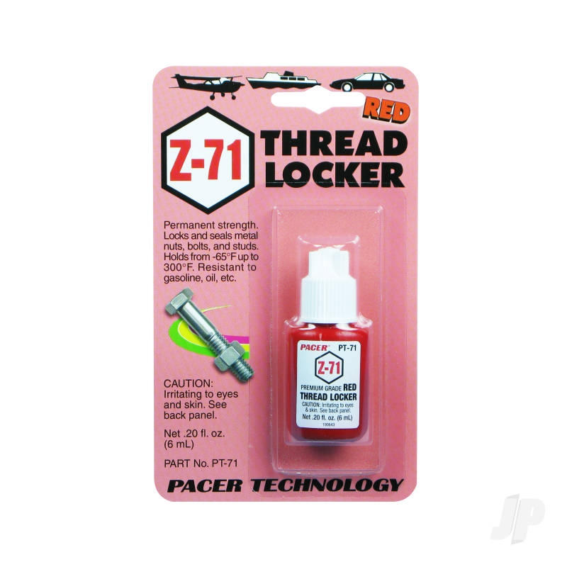 PT71 Z-71 Red Thread Locker .20oz (Box of 6)