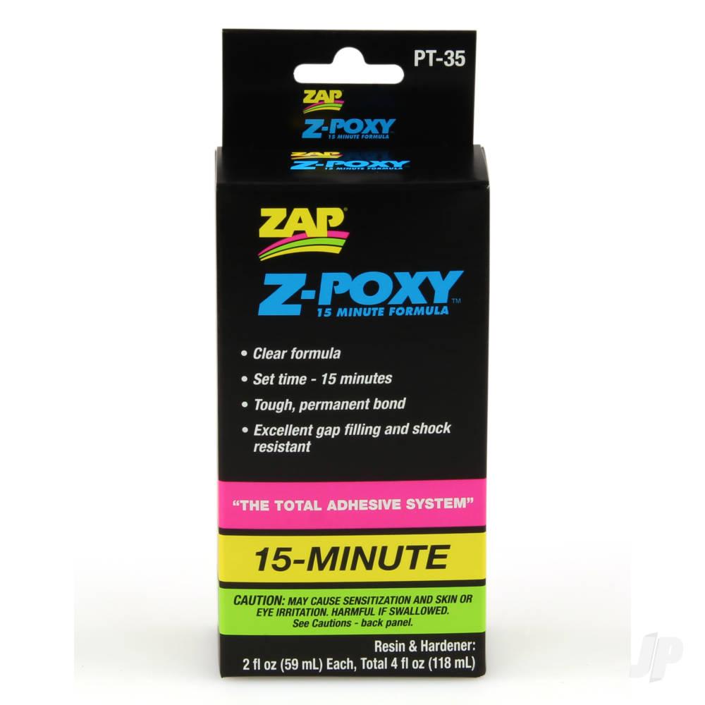 PT35 Z-Poxy 15 Minute Epoxy 4oz (Box of 6)