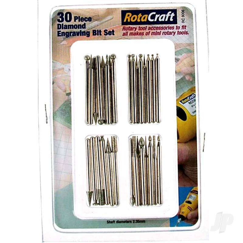 R/C9006 30pc Diamond Engraving Bit Set