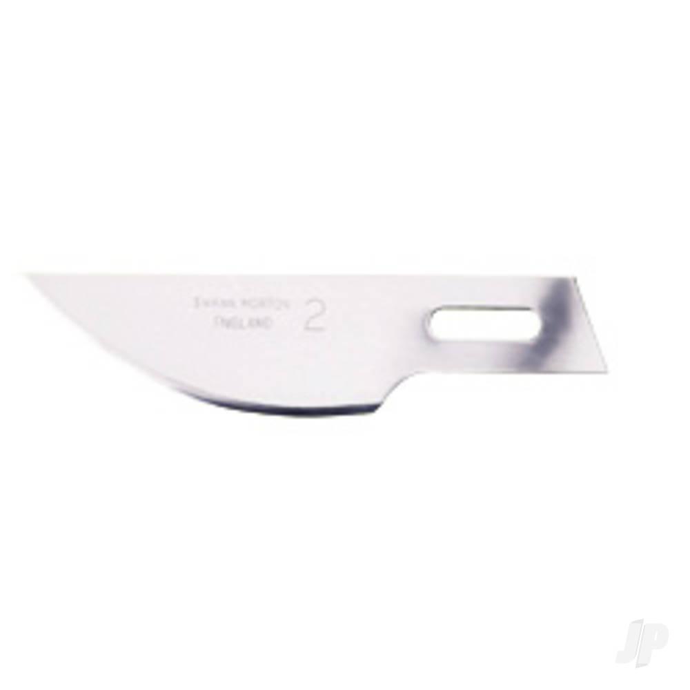 Craft Knife Blade 2 (Curved) (50)
