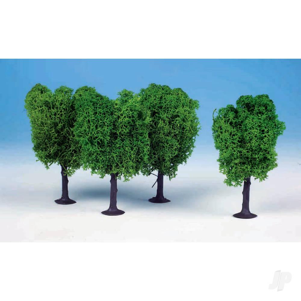 1020 3 Lichen Elm Trees 12cm (Light Green)
