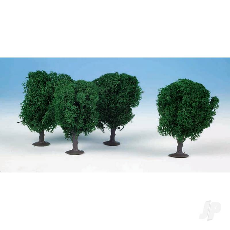 1030 4 Lichen Avenue Trees 7cm (Dark Green)