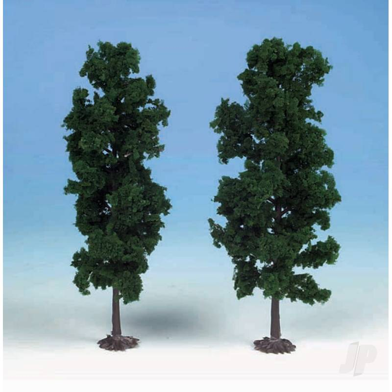 1130 2 Beech Trees 18cm (Dark Green)